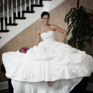 Bridal Portrait - Charlotte City Center