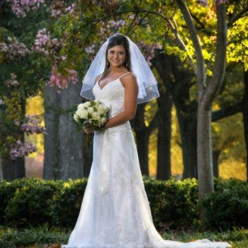 Bridal Portrait - Furman University in Greenville, SC