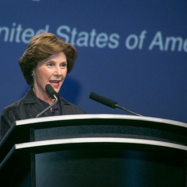 Laura Bush at ALFA Conference in Charlotte