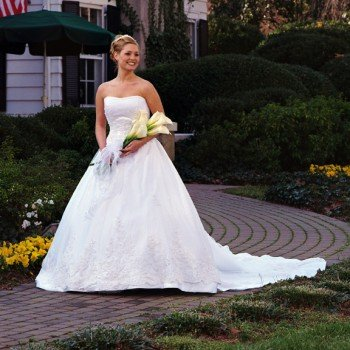 Bridal Portrait at the Morehead Inn