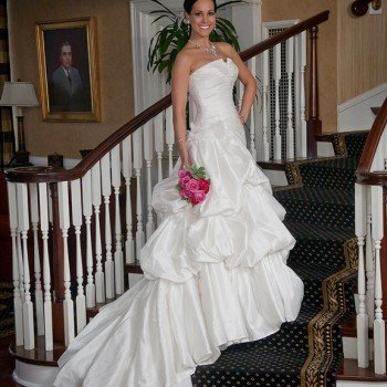 Bridal Portrait - Charlotte City Club