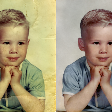 Image Repair and Color Restoration