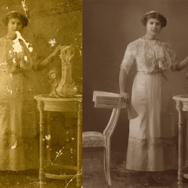 Restoration and Repair of Very Old Photo