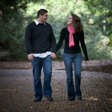 Engagement Portrait in Greenville, SC