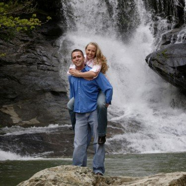 Engagement Portrait - Lake Lure, NC