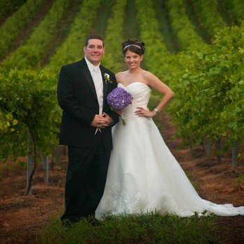 Wedding at Woodmill Winery