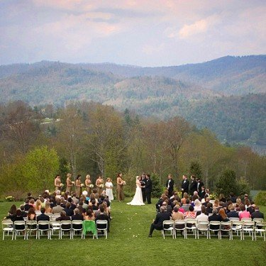 Mountain Top Wedding at Trillium